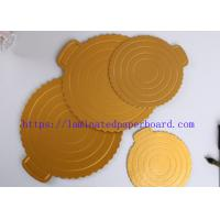 Factory  Price Champagne Gold PET Metallic Foil Paper for Cake Board/ Packaging Box Manufactures