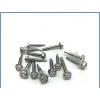 Quality Passivated Stainless Steel Bolt , Stainless Steel Flange Bolts With Washer Self for sale