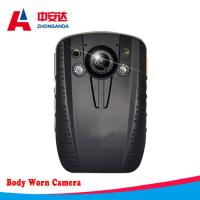 Portable Body Worn Camera Security Guard Police Recording Law Enforcement Logger with GPS Manufactures