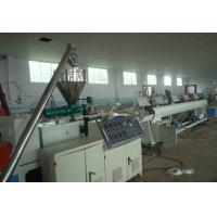 PVC 4 - Cavity Pipe Extrusion Production Line / Plastic Pipe Threading Machine Manufactures