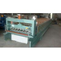 Industrial Steel Roof Tile Roll Forming MachineWith Automatic SAJ Inverter Manufactures