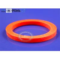 Heat Stabile Molded Silicone Parts , Reusable Silicone O Ring Gasket Manufactures