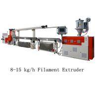 8 - 15 kg/h 3D Printer Filament Extruder Line Single Screw Making Machine Manufactures