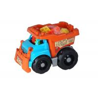 Recycled Plastic Building Blocks Vehicle Play Set For Toddlers And Babies Manufactures
