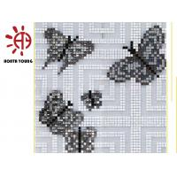 HTY - TC 300 300*300 Wholesale Beautiful Stained Glass Mosaic Tile for Indoor Wall Manufactures