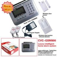 New Wireless Luxury Intelligent Home Alarm System Gsm Manufactures