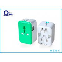 Auto Protection Universal USB Mains Charger Adapter With 5V 2.4A Dual USB Port Manufactures