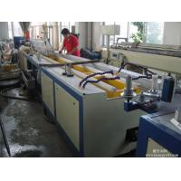 PVC WPC Profile Wide Door Frame Making Machine Plastic Profile Extrusion Machine Manufactures
