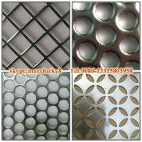 2015 canton fair round hole perforated metal sheet Manufactures
