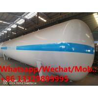 HOT SALE! CLW brand 50MT 100cbm surface lpg gas storage tank, good price stationary propane gas tanker for sale Manufactures
