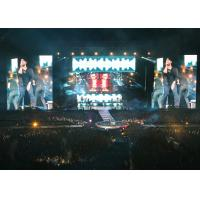 No Granular Spots P5 Led Display , Large Outdoor Led Screen Rental Dustproof Manufactures