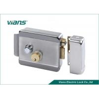 Double Lock Cylinder Electric Rim Lock Turn Left or Turn Right to Open the Door Manufactures