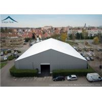 China White  Aluminium Frame Warehouse Tent With  Rainproof Large  Canopy Fabric on sale