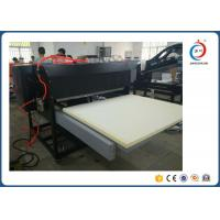 Semi Automatic Large Format Heat Press Machine With Dual Station / Double Cylinders Manufactures