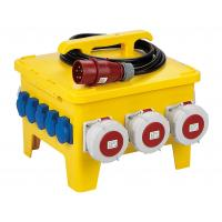 Portable Temporary Power Distribution Center Polyethylene Strong Plastic Housing Manufactures
