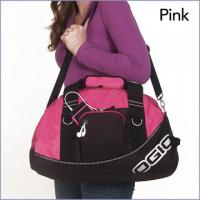 Large Womens Travel Bags Personalised Sports Bags in Pink , Green Manufactures