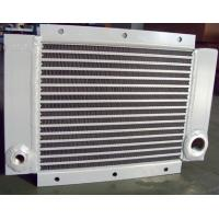 China Aluminum Plate Fin Air Compressor Heat Exchanger Vacuum Brazed Cooling System on sale