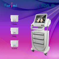 FDA approved 3 transducers ultherapy hifu for wrinkle removal system Manufactures