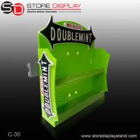 Quality Colorful two tiers acrylic counter top display/table display for show chewing for sale