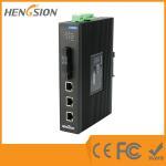 Industrial Unmanaged EIB05-3E-2F 5 Port Network Switch 2 Megabit FX Poe Ethernet Switch Manufactures