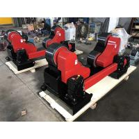 Hand Control And Foot Pedal, 20 Ton Steel Pipe Rollers With Remote Manufactures