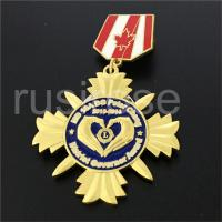 Personalized custom charity organization honorary medal, charity group personality badge Manufactures