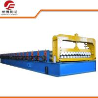 High Speed Trapezoidal Sheet Roll Forming Machine , Metal Roofing Roll Former
