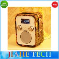 NEW hand free call portable alarm clock radio with bluetooth speaker and  TF/AUX/USB for MP3 play Manufactures