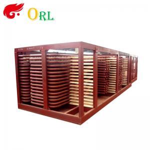 80MW Petroleum Industry CFB Boiler Superheater OEM TUV Superheater In Boiler Manufactures