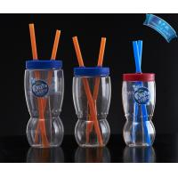 Lovely Kids Plastic Cups Drinking Cups,Plastic Drinking Cup with Lid and Straw Manufactures
