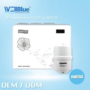 Alkaline Reverse Osmosis Water Purifier RO Water Filter Machine 75GPD Output Manufactures