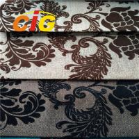 China 100% Polyester Sofa Upholstery Fabric Flame Retardant 30m - 50m/Roll on sale