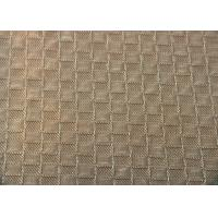 China Reactive Dye Grid Jacquard Material Shrink - Resistant For Hometextile on sale