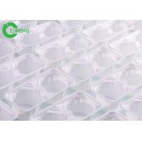 Reusable 4 Cups Plastic Cup Carrier Trays Durable Disposable For Coffee Manufactures