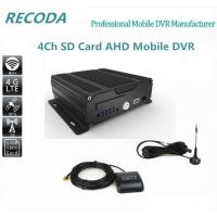 Dual 3G Car DVR 4ch Bus 4G Mdvr Support ISO Android Mobile Phone Surveillance Manufactures