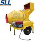 350L Self Loading Mobile Construction Concrete Mixer For Construction Site Manufactures