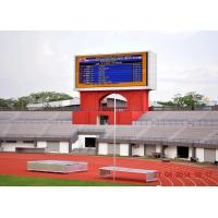Digital Custom Dynamic Stadium LED Display  For Soccer Game Advertising Manufactures