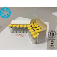 Raw Peptide Lyophilized Powder Growth Hormone Releasing Hexapeptide 6 GHRP - 6 Manufactures