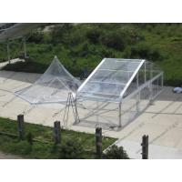 Pagoda Type Transparent Marquee Tent , All Transparent Curve Tent Strong Aluminum Frame Manufactures