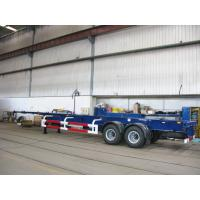 Quality multi axle trailer truck 40 tons container truck chassis - CIMC for sale