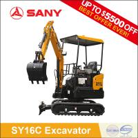 SANY SY16C 1.6t mini crawler excavator china mini digger for Sale Manufactures