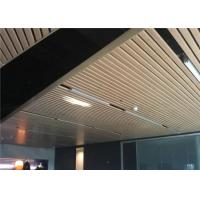 Industrial  metal strip ceiling with ISO9001 approved Manufactures
