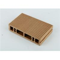 Fiber Plastic Wood Polymer Composite Siding , Outdoor Composite Wood Board Manufactures