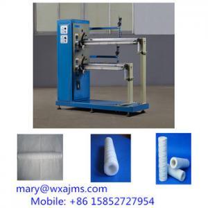 China 10''-20'' High Capacity PP Yarn Winding Filter Cartridge Making Machine on sale