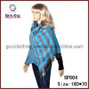 Pashmina Yarn Dyed Stripe Shawl (SP004) Manufactures