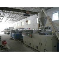 China PVC Foam Board Production Line Twin Screw Extruder With 100% Recycled Materials on sale