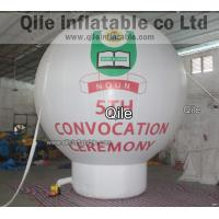Large Inflatable Groud Earth Ball,Air Earth Advertise Balloon PVC white Inflatable Advertising Manufactures