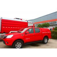 Front Overhang 1000mm Fire Command Vehicles 1800mm Lifting Height ISO9001 Certificated Manufactures
