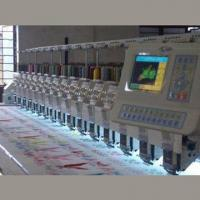 Quality Flat Computerized Embroidery Machine without Trimmer, Used in Traditional Garments for sale