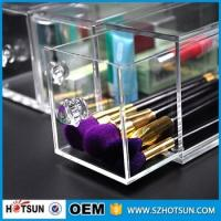 China Acrylic Makeup Organizer 3 Drawer Counter Top Beauty Product Storage on sale